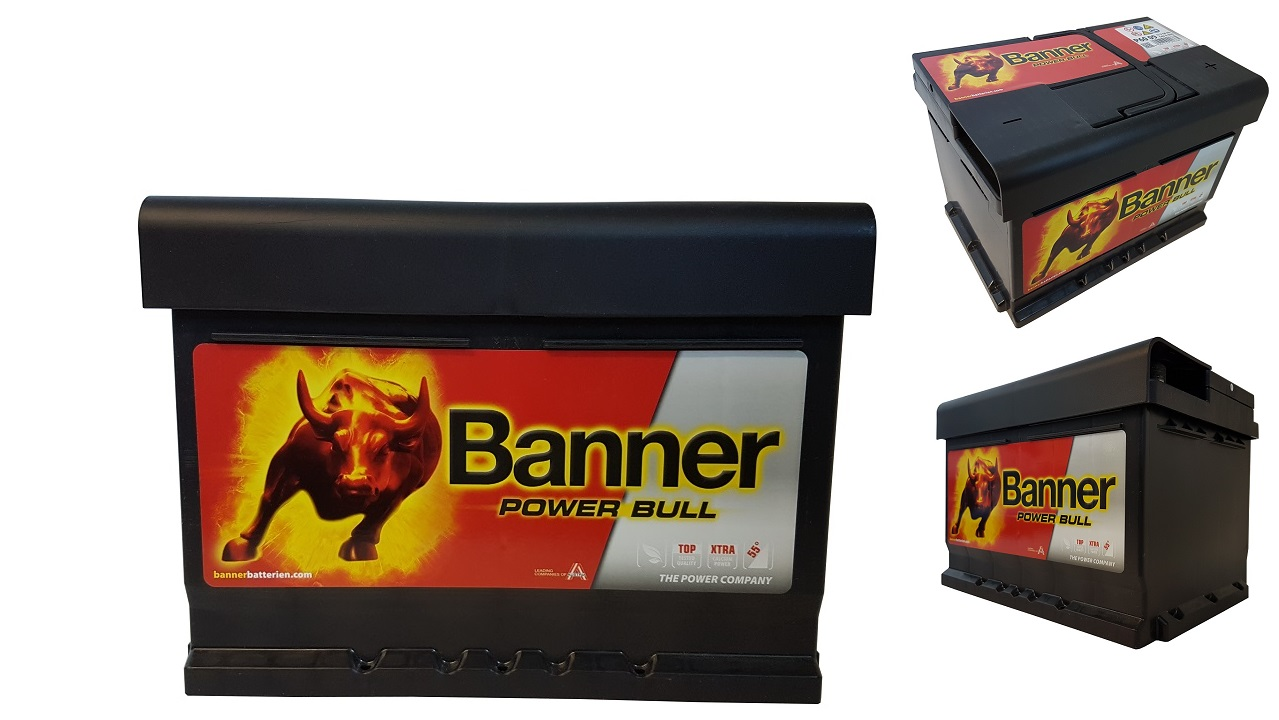 akumulator banner 12v 60ah 540a super akumulatory krak w. Black Bedroom Furniture Sets. Home Design Ideas