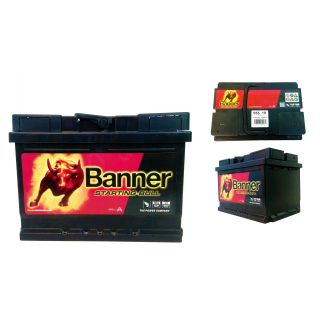 AKUMULATOR BANNER STARTING BULL 12V 55AH 450A